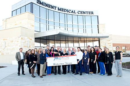 Eminent Medical Center Ribbon Cutting Event